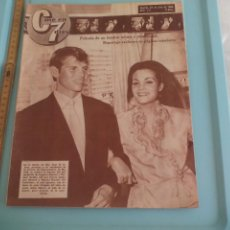 Cine: Nº 171 REVISTA CINE EN 7 DIAS 1964 C7 CARMEN SEVILLA, MARISOL, SOFIA LOREN, EL CORDOBÉS, ALAIN DELON. Lote 170985745