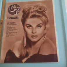 Cine: Nº 207 REVISTA CINE EN 7 DIAS 1965 C7 ANN MARGRET, ANTONIO GADES, MITSOUKO, ROSA MORENA.. Lote 170986212