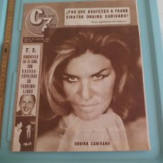 Cinema: Nº 181 REVISTA CINE EN 7 DIAS 1964 C7 FRANK SINATRA ONDINA CANIVANO, THE BEATLES, DIANE CILENTO. Lote 170986767