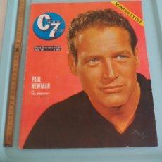 Cine: Nº 155 REVISTA CINE EN 7 DIAS 1964 C7 NUMERO EXTRA, PAUL NEWMAN, BELLAS DE CINE, MIRINDA. Lote 171005433