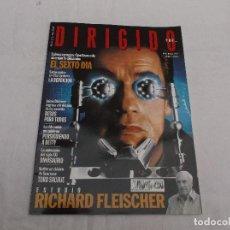 Cine: DIRIGIDO POR... Nº 296: ESTUDIO RICHARD FLEISCHER. EL SEXTO DÍA. TORO SALVAJE. BESOS PARA TODOS. DIN. Lote 194633801