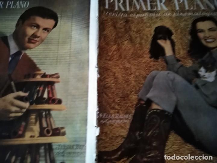 PRIMER PLANO. PORTADA ELLA RAINES AÑO VII Nº 313 1946 TURHAN BEY (Cine - Revistas - Primer plano)