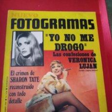 Cine: REVISTA NUEVO FOTOGRAMAS - Nº 1104 - AÑO 1969 - EL CRIMEN DE SHARON TATE-VERONICA LUJAN. Lote 171032934