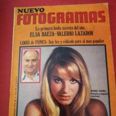Cine: REVISTA NUEVO FOTOGRAMAS - Nº 1112- AÑO 1970-INGRID GARBO- ELSA BAEZA- V.LAZAROV. Lote 171041609