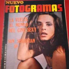 Cine: REVISTA NUEVO FOTOGRAMAS - Nº 1080 - AÑO 1969 - SOLEDAD MIRANDA - SAN SEBASTIAN 69. Lote 171049680