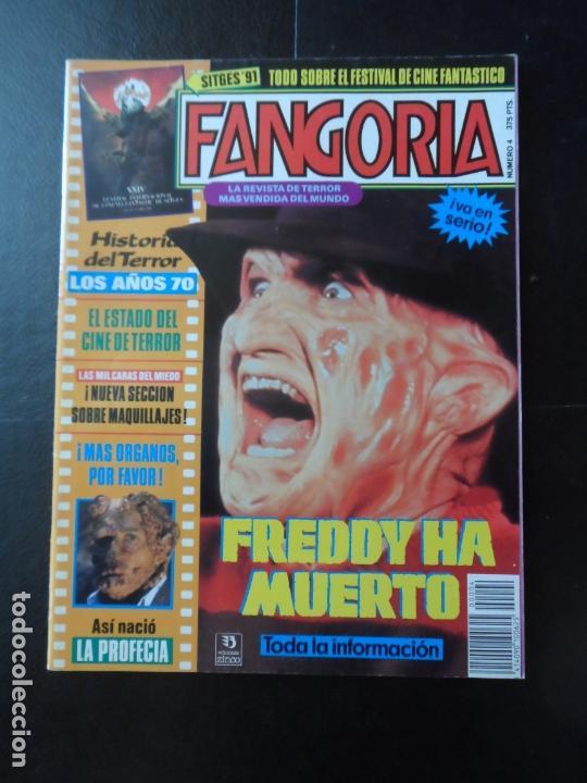 FANGORIA Nº 4. CINE DE TERROR. PÓSTER DE FREDDY HA MUERTO. HISTORIA DE TERROR AÑOS 70. LA PROFECIA (Cine - Revistas - Fangoria)