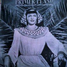 Cine: REVISTA PRIMER PLANO. DE 1945. Nº 253 MARIA MONTEZ. Lote 171331457