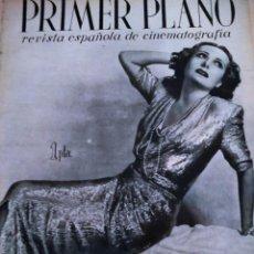 Cine: REVISTA PRIMER PLANO. MAYO 1943. Nº 135. LA BERTINI EN MADRID. EL ABANDERADO.. Lote 171331512