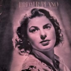 Cine: PRIMER PLANO, REVISTA ESPAÑOLA DE CINEMATOGRAFIA. AÑO V, NUM.192. 18 JUNIO 1944. Lote 171331945