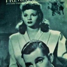 Cine: SARA MONTIEL LOTE DE 3 REVISTAS 1944-45-46 PRIMER PLANO. Lote 171333499