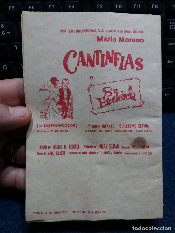 Cine: Lote Cantinflas La vuelta al mundo en 80 dias y Pacto de la paz Su exelencia - Foto 2 - 171433270