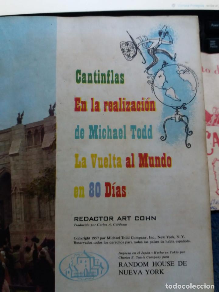 Cine: Lote Cantinflas La vuelta al mundo en 80 dias y Pacto de la paz Su exelencia - Foto 8 - 171433270