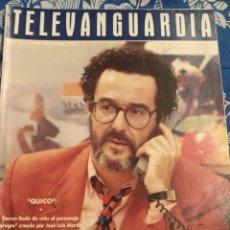 Cine: TV ANTIGUA REVISTA SUPLEMENTO TELE VANGUARDIA TELEVANGUARDIA 1992 QUIKO FERRAN RAÑE. Lote 171542487