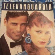 Cine: TV ANTIGUA REVISTA SUPLEMENTO TELE VANGUARDIA TELEVANGUARDIA 1992 SERIE CALOR TROPICAL. Lote 171542647