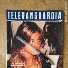Cine: TV ANTIGUA REVISTA SUPLEMENTO TELE VANGUARDIA TELEVANGUARDIA 1991 CHÁBELI IGLESIAS. Lote 171569913