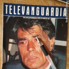 Cine: TV ANTIGUA REVISTA SUPLEMENTO TELE VANGUARDIA TELEVANGUARDIA 1991 JESUS HERMIDA. Lote 171571099