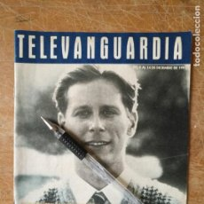 Cine: TV ANTIGUA REVISTA SUPLEMENTO TELE VANGUARDIA TELEVANGUARDIA 1991 LOS KENNEDY DE MASSACHUSETTS. Lote 171575162