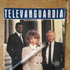 Cine: TV ANTIGUA REVISTA SUPLEMENTO TELE VANGUARDIA TELEVANGUARDIA 1991 SERIE COP ROCK DE STEVEN BOCHCO. Lote 171575187
