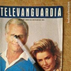 Cine: TV ANTIGUA REVISTA SUPLEMENTO TELE VANGUARDIA TELEVANGUARDIA 1991 CAZA SUBMARINA . Lote 171575217