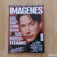 Cine: IMÁGENES Nº 166 ENERO 1998. Lote 171632792
