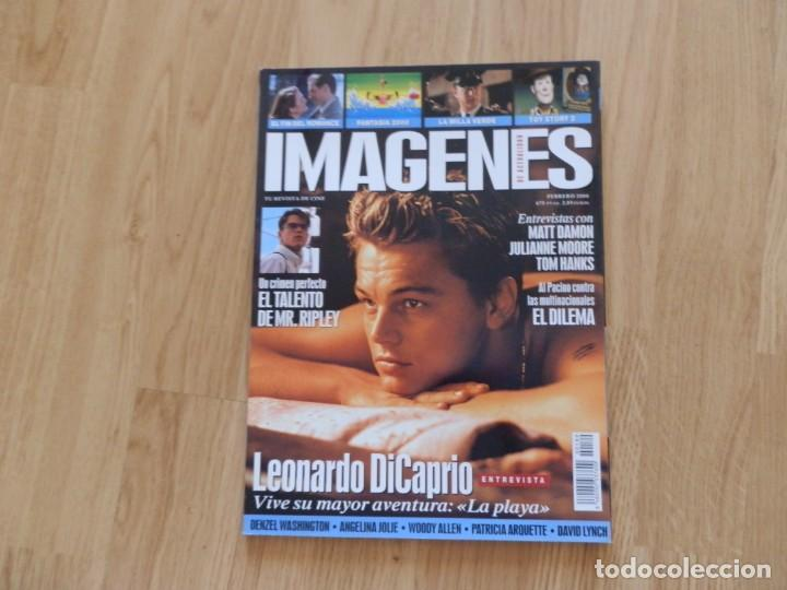 IMÁGENES Nº 189 FEBRERO 2000 (Cine - Revistas - Imágenes de la actualidad)