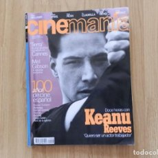 Cine: CINEMANÍA Nº 8 MAYO 1996. Lote 171633793