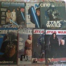 Cine: LOTE 7 REVISTAS STAR WARS AÑOS 1999 A 2005. BUENA CONSERVACIÓN. Lote 171818509