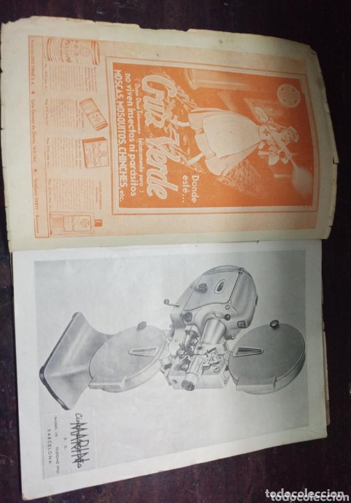 Cine: Revista de cine PANTALLAS Y ESCENARIOS. Zaragoza 1945 - Foto 3 - 172212552
