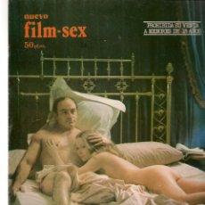 Cine: NUEVO FILM - SEX. EL FRANCO TIRADOR. / CAZAR UN GATO NEGRO. EDITA: PERMANENCIAS, 1977. (P/B1). Lote 172401957