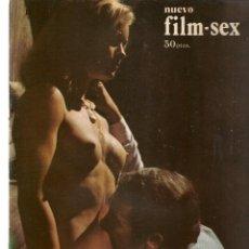 Cine: NUEVO FILM - SEX. LA ESPUELA . EDITA: PERMANENCIAS, 1977. (P/B1). Lote 172402080