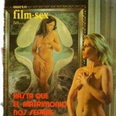 Cine: NUEVO FILM - SEX. HASTA QUE EL MATRIMONIO NOS SEPARE / MAS ALLÁ DEL DESEO. 1977. (P/B1). Lote 172402193