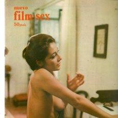 Cine: NUEVO FILM - SEX. Nº 16. MANUELA. CHARO LÓPEZ. EDITA: PERMANENCIAS, 1977. (P/B1). Lote 172402459