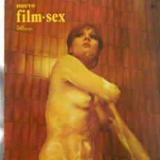 Cine: NUEVO FILM - SEX. Nº 18. ABORTO CRIMINAL. EDITA: PERMANENCIAS, 1977. (P/B1). Lote 172402537