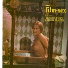 Cine: NUEVO FILM - SEX. Nº 22. EL BUSCÓN. ANA BELEN. EDITA: PERMANENCIAS, 1977. (P/B1). Lote 172402877