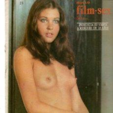 Cine: NUEVO FILM - SEX. Nº 23. LA LLAMADA DEL SEXO. EDITA: PERMANENCIAS, 1977. (P/B1). Lote 172402985