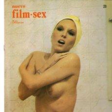 Cine: NUEVO FILM - SEX. Nº 29. EL JOVENCITO DRÁCULA. SUSANA ESTRADA. EDITA: PERMANENCIAS, 1977. (P/B1). Lote 172404249