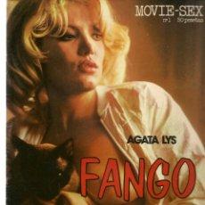 Cine: MOVIE - SEX. Nº 1. FANGO. AGATA LYS. EDITA: DIFUSORA LIBRERA, 1976. (P/B1). Lote 172404674