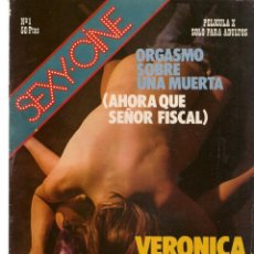 Cine: SEXY - CINE. Nº 1. ORGASMO SOBRE UNA MUERTA . VERÓNICA MIRIEL / SUSA MAYO. (P/B1). Lote 172405017