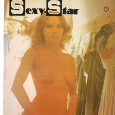 Cine: SEXY - STAR. Nº 1. HISTORIAS DEL STREP - TEASE. SUSANA ESTRADA. EDITA ENESA, 1977(P/B1). Lote 172405239