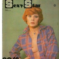 Cine: SEXY - STAR. Nº 2. LA NOCHE DE LOS MARIDOS INFIELES. ROSA VALENTI. EDITA ENESA, 1977(P/B1). Lote 172405322