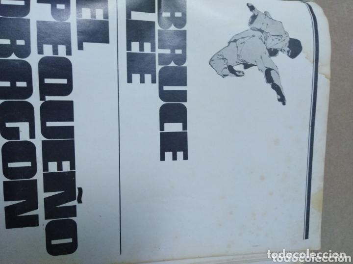Cine: Bruce Lee revista vintage cine fotos KARATE DRAGON ARTES MARCIALES CHINA LIBRO VINTAGE - Foto 2 - 172411758