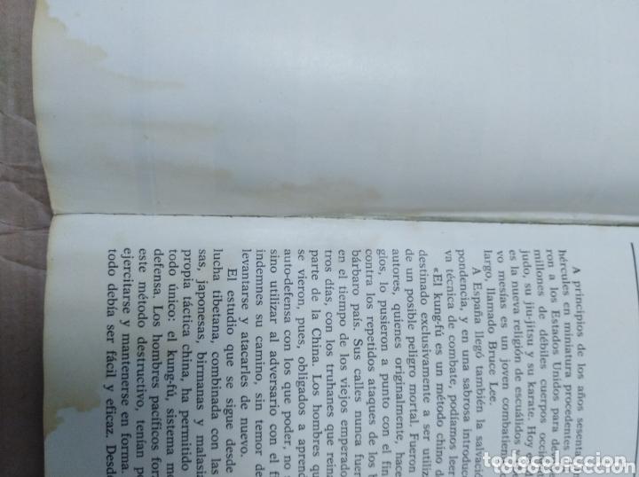 Cine: Bruce Lee revista vintage cine fotos KARATE DRAGON ARTES MARCIALES CHINA LIBRO VINTAGE - Foto 3 - 172411758