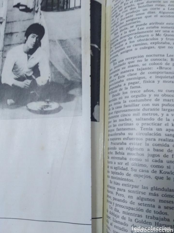 Cine: Bruce Lee revista vintage cine fotos KARATE DRAGON ARTES MARCIALES CHINA LIBRO VINTAGE - Foto 6 - 172411758