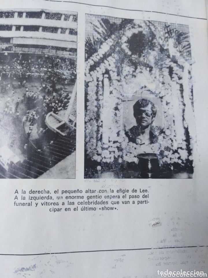 Cine: Bruce Lee revista vintage cine fotos KARATE DRAGON ARTES MARCIALES CHINA LIBRO VINTAGE - Foto 9 - 172411758