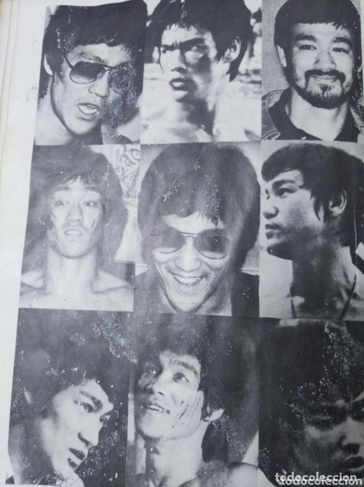 Cine: Bruce Lee revista vintage cine fotos KARATE DRAGON ARTES MARCIALES CHINA LIBRO VINTAGE - Foto 10 - 172411758