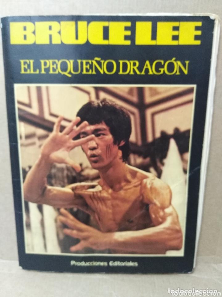 BRUCE LEE REVISTA VINTAGE CINE FOTOS KARATE DRAGON ARTES MARCIALES CHINA LIBRO VINTAGE (Cine - Revistas - Otros)