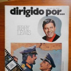 Cine: DIRIGIDO POR Nº 6 - JERRY LEWIS - ABRIL 1973. Lote 172612472
