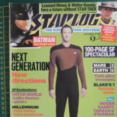 Cine: REVISTA CINE STARLOG N 147 STAR TREK BATMAN INDIANA JONES ORIGINAL EN INGLES 100 PG. Lote 172732112