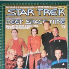 Cine: REVISTA CINE STAR TREK DEEP SPACE NINE VOL 1 ORIGINAL EN INGLES. Lote 172732149