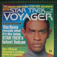 Cine: REVISTA CINE STAR TREK VOYAGER VOL 2 ORIGINAL EN INGLES. Lote 172732200